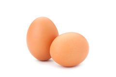 Two eggs Stock Image