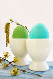 Two eggs Royalty Free Stock Images