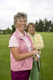 Two Elderly Women Stock Image