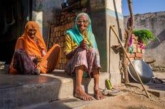 Two elderly women Stock Photography