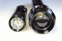 Two electric eyes Stock Photography