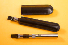 Two Electronic Cigarettes Royalty Free Stock Photos