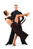 Two elegance dancers. Stock Image