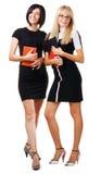 Two elegant businesswomen Stock Image