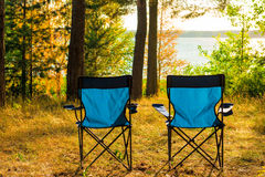 Two empty chairs Royalty Free Stock Photography
