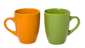 Two empty cup Royalty Free Stock Photography