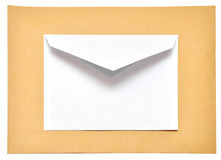 Two empty envelopes Royalty Free Stock Image