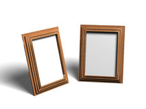 Two Empty Frames Royalty Free Stock Images