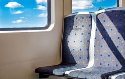 Two empty seats in the heaven Stock Image