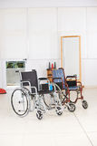 Two empty wheelchairs Royalty Free Stock Photography