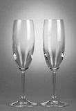 Two empty wineglasses Royalty Free Stock Photography