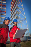 Two Engineers at Work Royalty Free Stock Image