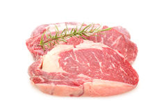 Two entrecote beef steak Stock Image