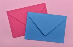 Two envelopes Stock Photo