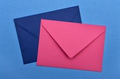 Two envelopes Royalty Free Stock Photos