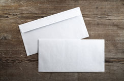 Two envelopes Stock Photography