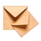 Two envelopes Royalty Free Stock Photo