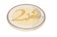 Two euro Royalty Free Stock Image