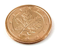 Two Euro cents coin isolated! Stock Image