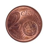Two euro cents Stock Photo