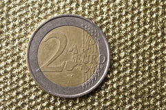 Free Two Euro Coin Royalty Free Stock Photography - 37460967
