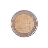 Two Euro coin Royalty Free Stock Photos
