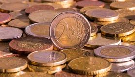 Two euro Stock Photos