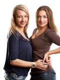Two European Women Stock Photography