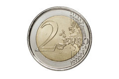 A two euros coin Stock Photos