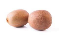 Two Even Kiwi Fruits Stock Photos