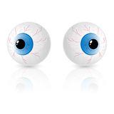 Two eyes Royalty Free Stock Photo
