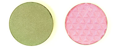 Two Eyeshadow Color Stock Photography
