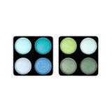 Two eyeshadow palettes Royalty Free Stock Photography