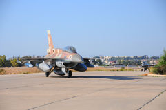 Two F-16 stock image