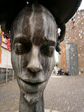 Two faced fountain at Bernkastel-Kues, Germany. The tiny but charming twin towns of Bernkastel & Kues straddle the Mosel river about an hour or so's drive from Royalty Free Stock Photo