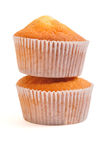 Two Fairy cakes Stock Photography