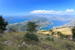 Two famous bays in Montenegro Royalty Free Stock Photo