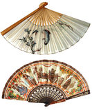 Two fan Stock Image