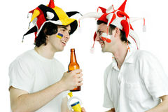 Two Fans Stock Images