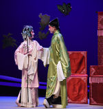 "Two feelings mutually yue -Kunqu Opera ""the West Chamber"" Royalty Free Stock Image"