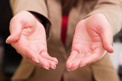 Two female hands Royalty Free Stock Photography