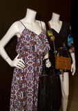 Two Female Mannequin Display With Purses Stock Photography