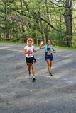 Two Female Runners, 2021 Blue Ridge Marathon