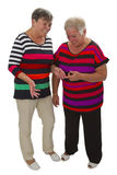 Two female seniors Stock Photography