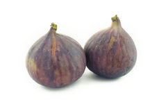 Two figs Royalty Free Stock Photos