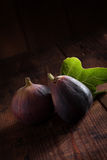 Two figs Royalty Free Stock Images