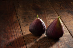 Two figs Stock Images