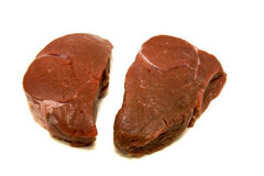 Two Fillet Steaks Royalty Free Stock Photo