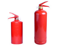 Two fire extinguisher Royalty Free Stock Photo