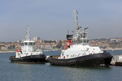 Two fireboat Stock Photography
